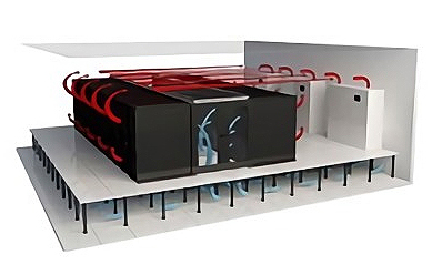 Provides an intensive air-conditioning environment suitable for high-density server room environments2